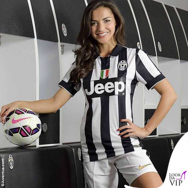 Laura Barriales divisa Juventus Nike 7