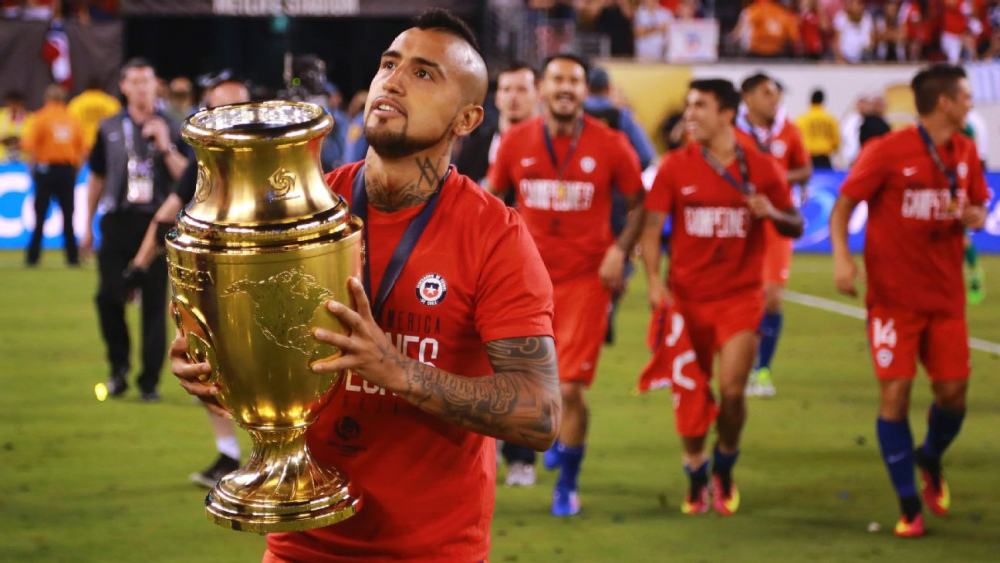 Chile can challenge at the World Cup after back-to-back Copa America titles