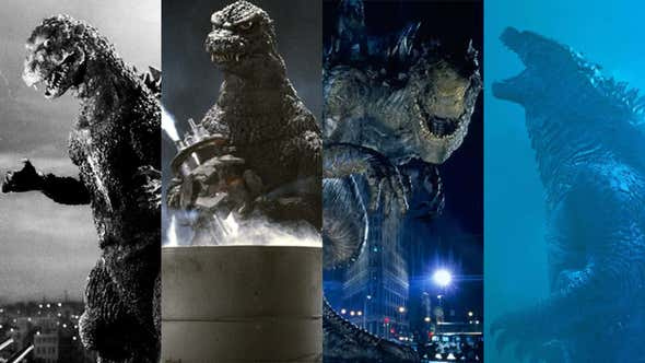 The Long History of Godzilla's Cinematic Looks