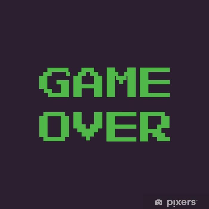 adesivi-messaggio-di-pixel-vettore-game-