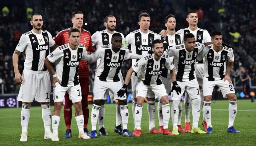 Pallone Ufficiale Juventus 2018/19 - Autografato dalla rosa - CharityStars