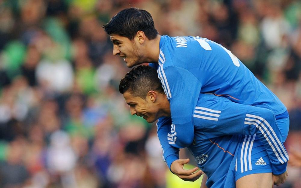 Morata-Ronaldo di nuovo insieme: i loro numeri in coppia | Sky Sport
