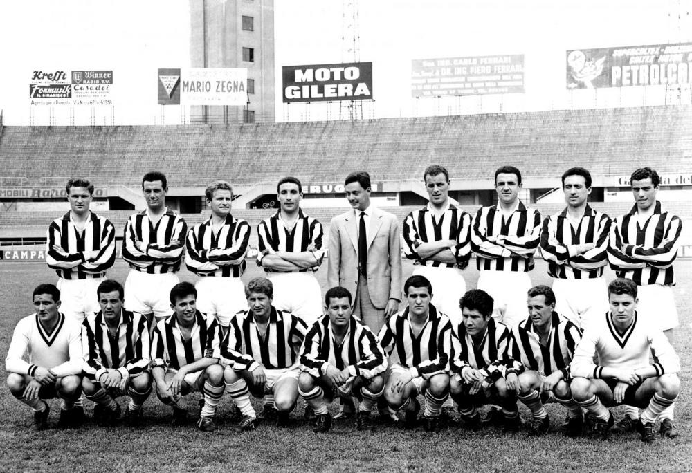 Risultati immagini per Campionato 1957/58 - FIORENTINA - JUVENTUS 2-1 - 15 DICEMBRE 1957